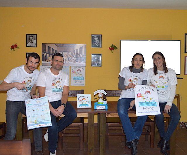 Ángel, Carlos, Sagrario y Ainhoa